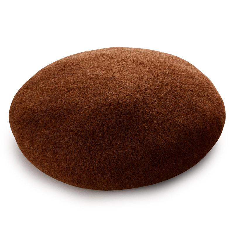 よこい ウールベレー帽 キッズ yo-br003  ネイビー