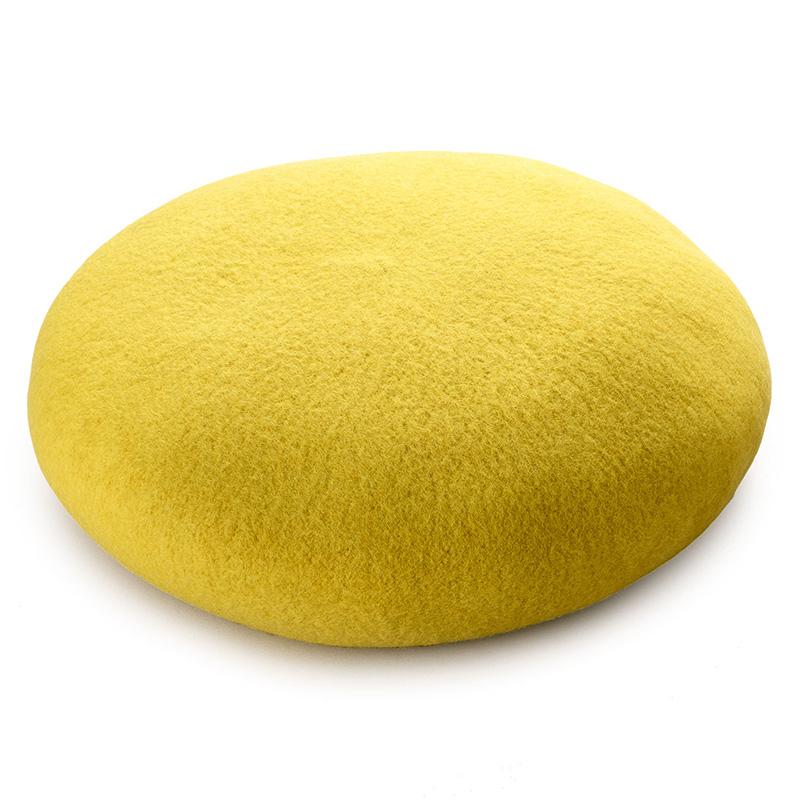 よこい ウールベレー帽 キッズ yo-br003 ダークブラウン