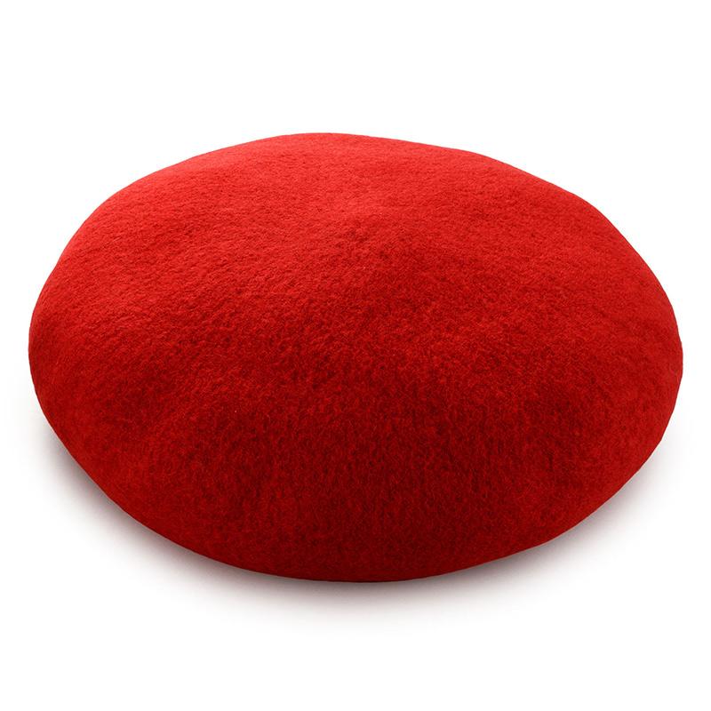 よこい ウールベレー帽 キッズ yo-br003 ライトブラウン