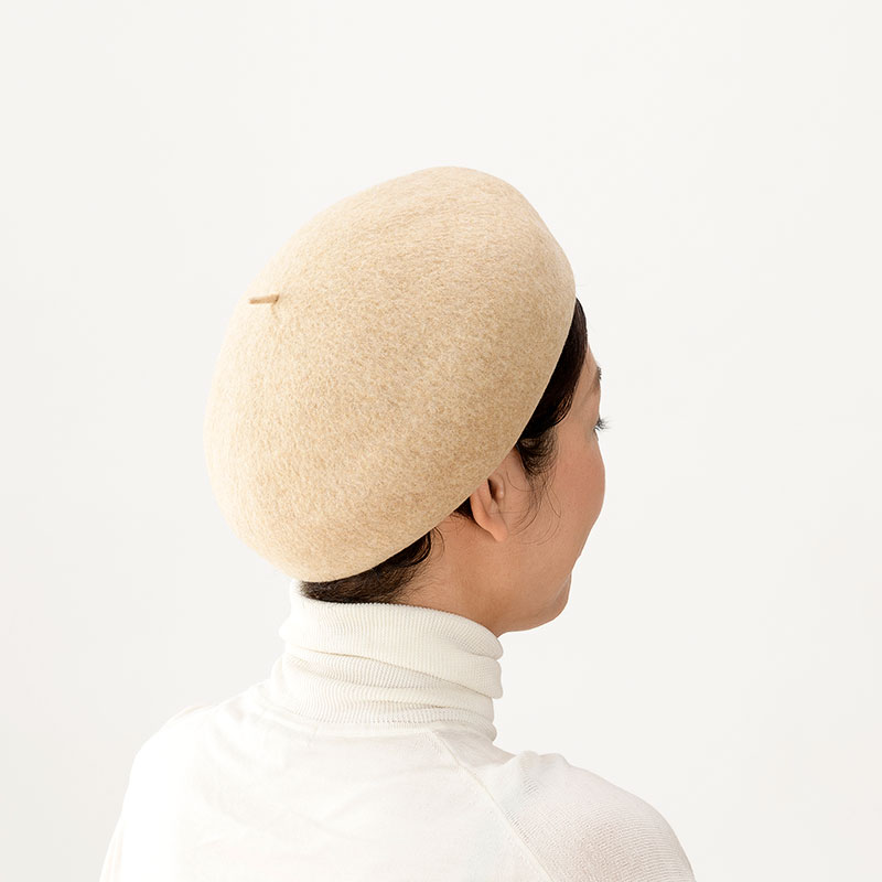 よこい トークバスクベレー帽 yo-br004